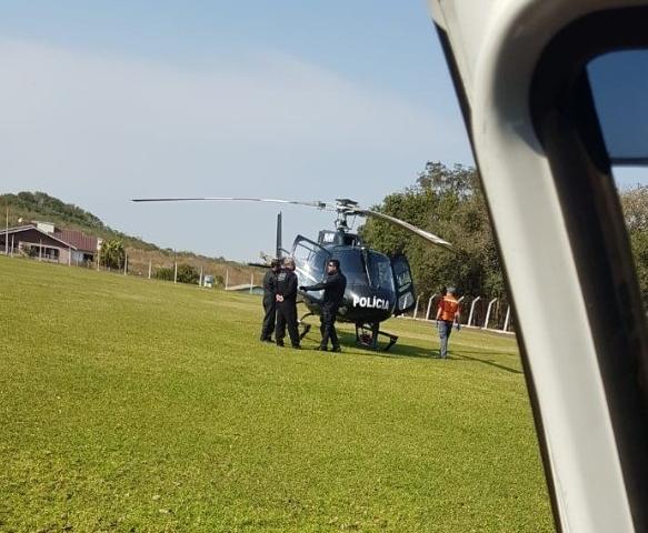 Acidente com vítima envolvendo trator é registrado em Cunha Porã